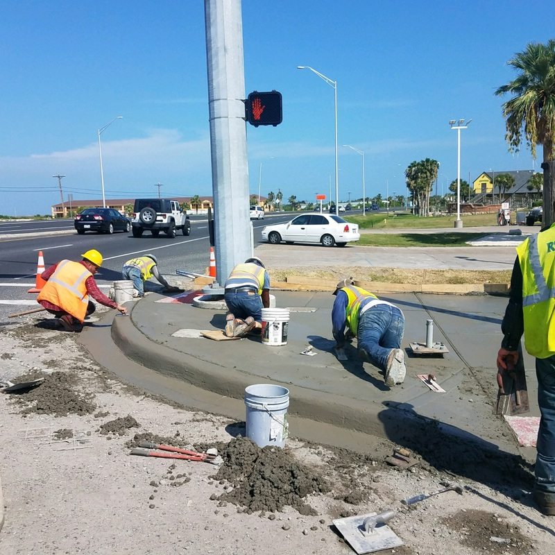 Projects Installer Of Street Lights Traffic Signals